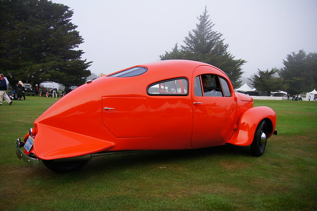 1937 Airmobile Experimental - Dolphin Tail view