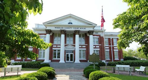 georgia courthouse alamo countycourthouse alamogeorgia wheelercounty usccgawheeler alamoga