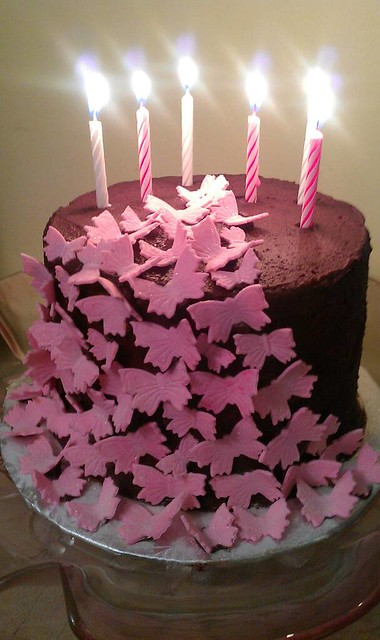 Butterfly Edible Cake Images