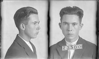 Shirer, Walter F. (AKA- Ralph Davidson). Inmate #23300 (MSA)