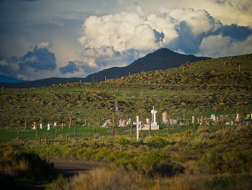 road summer sky cemetery clouds landscape geotagged colorado hills sanluisvalley gravestones laflorida conejoscounty