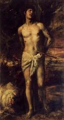 St Sebastian, 1570, by Titian