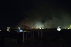 Bagram Dining Facility On Fire