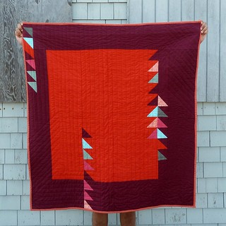 flight quilt back