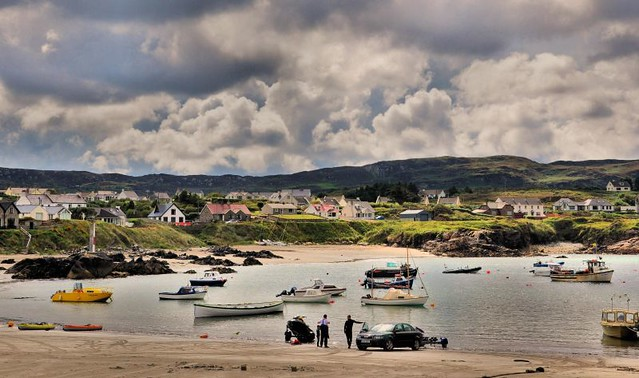 Portnablagh harbour,Co.Donegal