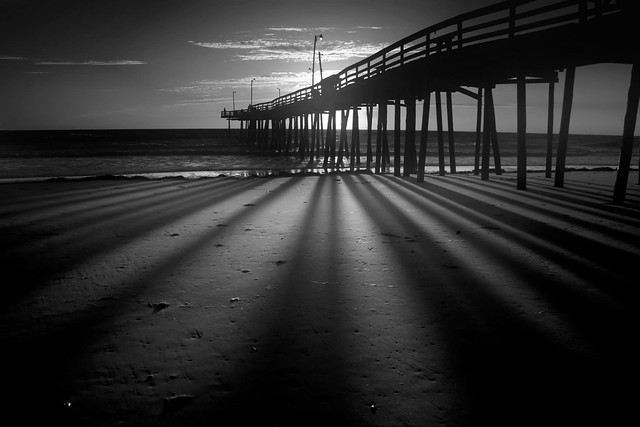 Nags head fishing pier 1 flickr photo sharing for Nags head fishing pier