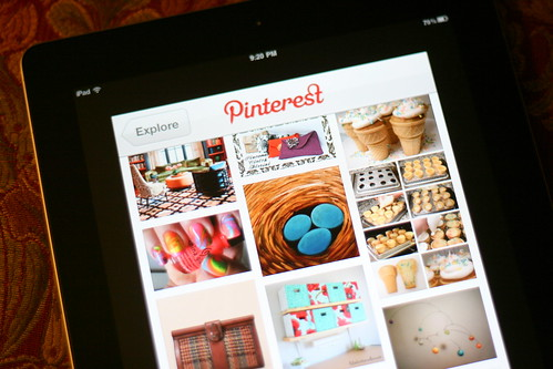 Pinterest + iPad = Love - get a job with pinterest