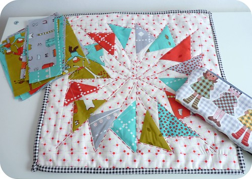 brit mini quilt swap