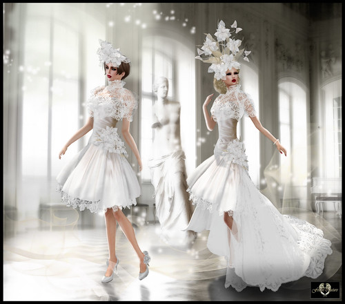 "NEW FELLINI COUTURE ""Allure"" Gown"