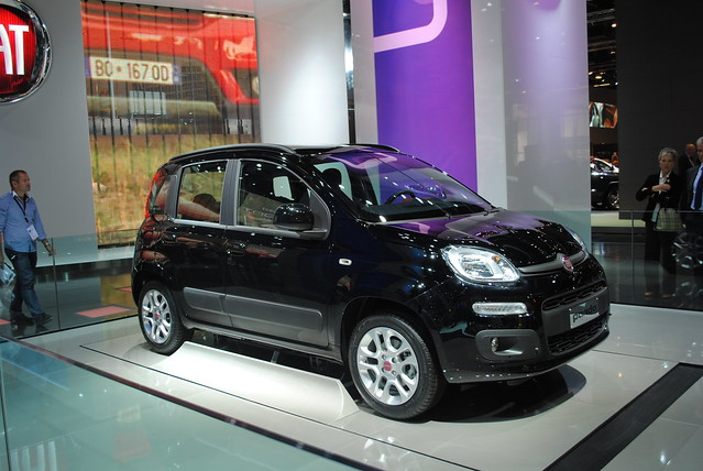 fiat panda at the frankfurt motor show iaa 2011 flickr photo sharing. Black Bedroom Furniture Sets. Home Design Ideas