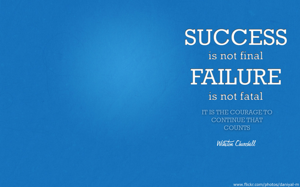 success & failure - wide screen