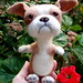 English Bulldog - needle felted