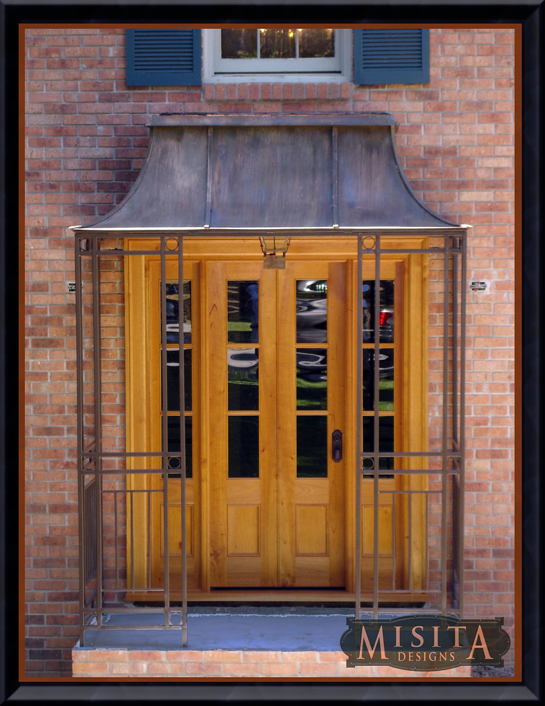 Decorative Front Entrances : Decorative front door awnings omahdesigns