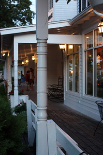 Porch of Pelletier's Restaurant & Fish Boil