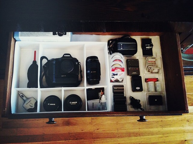 Diy Camera Equipment Storage How To Make A Photography