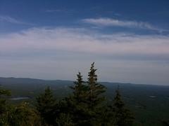 White Cross trail at Mt Monadnock