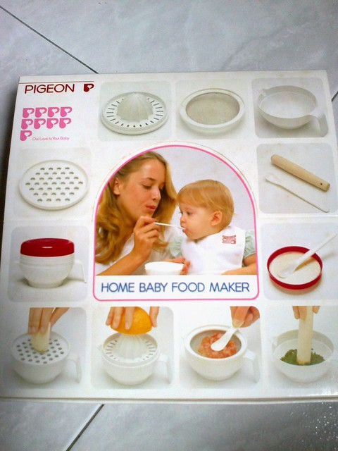 Pigeon Home Baby Food Maker, $18 | Flickr - Photo Sharing!