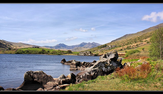 Mount Snowdon, Snowdonia National Park, North Wales