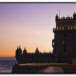 Изображение Башня Белем вблизи Algés. tower portugal monument torre lisboa belém vbenedetti