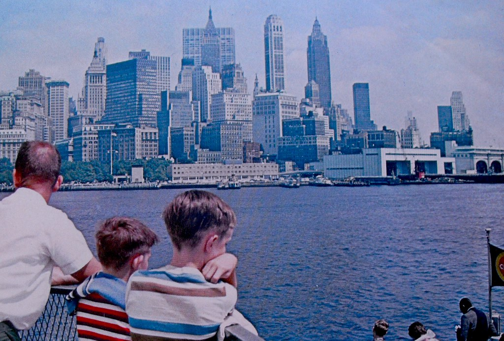 1960s Photo NYC Skyline 1966 New York State Vacationlands Brochure Vintage E