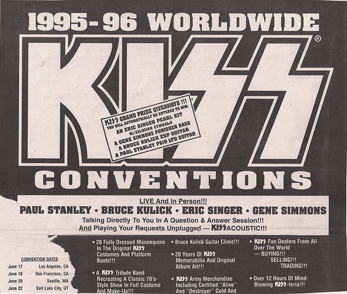 07-29-95 Kiss Convention @ Boston, MA (Top)