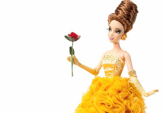Disney Princess Designer Doll Video - Belle (1)