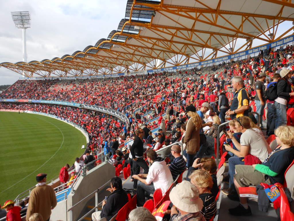 Gold Coast Suns Crowd