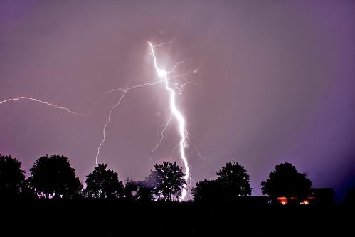 (1521) Blitze / Gewitter / lightning strike / Donnerschlag !