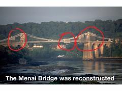Floating on BBC Radio 4 - Menai Bridge reconstruction
