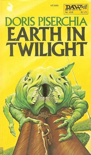 Earth in Twilight - Doris Piserchia - cover artist Wayne D. Barlow