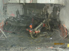 CM019 - Drilling Blast Holes in Wellway 1 (9-7-2011)
