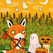 The Fox and the Pumpkin by Jack Teagle