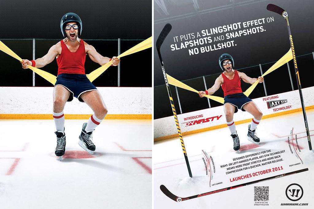 Warrior Dynasty Hockey Ad