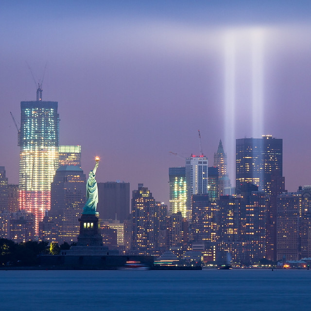 September 11, 2011: The 2011 Tribute in Light