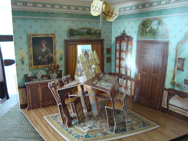 Victorian dining room flickr photo sharing for Victorian dining room