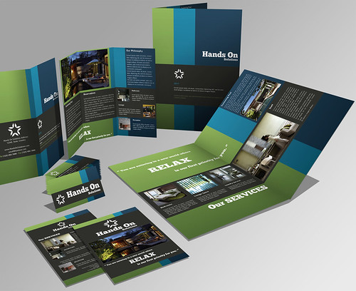 Set Brochure + Trifold + B. Card