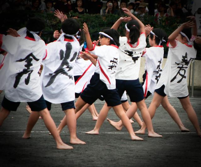 運動会・Sports festival of Japanese school