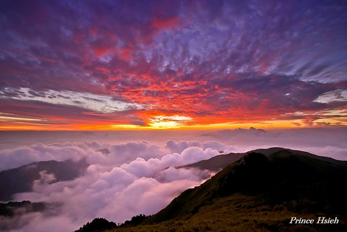 sunset clouds taiwan 南投 日落 合歡山 nantou 雲海 太魯閣國家公園 hehuanmountain tarokanationalpark 夕彩 sonya850 sony1635za