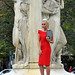 Red Dress at Dupont Circle1