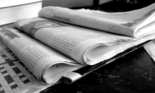 Newspapers B&W (2)