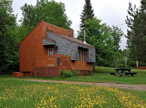 Chalet du Parc du Saguenay (Québec, Canada)