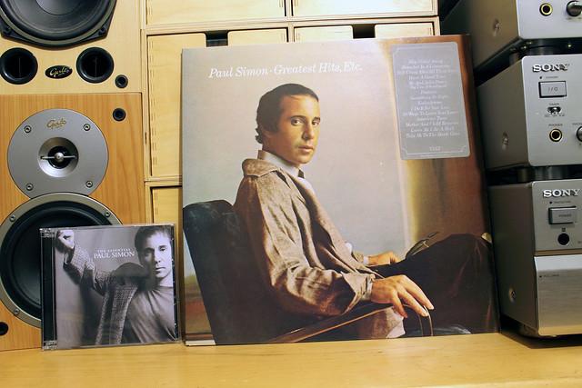 Paul Simon / The Essential (CD) + Greatest Hits etc. (LP)