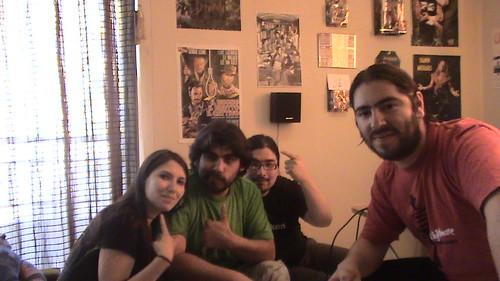 Jimbo, Morgana, Charlie DZ y Felipe Monarch