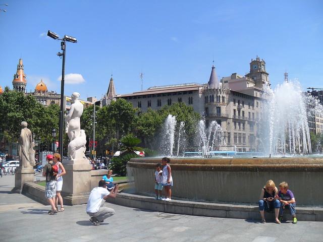 2011.07.25.105 - BARCELONA - Plaza de Cataluña