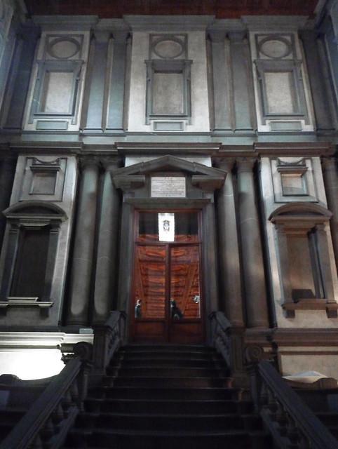 Michelangelo Laurentian Library Reading Room
