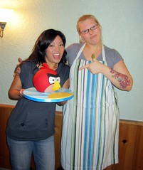 Angry Birds Cake with Andrea