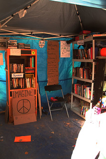 The People's Library, Occupy DC, November 5, 2011