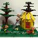 Three little pigs - Lego by tikitikitembo