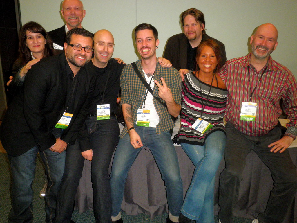 Blogworld Expo Photo David Armano, Ric Dragon, Josepf Haslam, Mitch Joel, Julien Smith