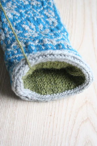 frogged :: inside of Northman Mitten